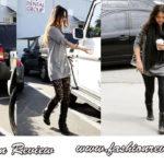 Variante de colanți, pentru o ținută de zi - Megan Fox și Jessica Alba