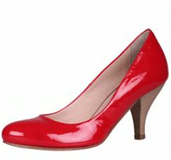 pantofi Nero piele naturala rosii
