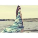 Rochie Joy culori marine degradeuri