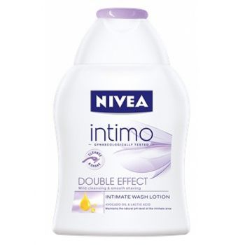 Lotiune gel Nivea Intimo Double Effect