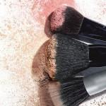 Blush / pudră de obraz și pensulă pentru fard de obraz