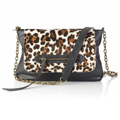 Poseta cu animal print leopard