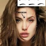 Analiza si trasarea liniilor sprancenei in make up machiaj