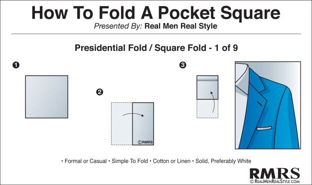 cum sa impaturesti batist de buzunar a unui barbat pentru buzunarul de sacou sau jacheta