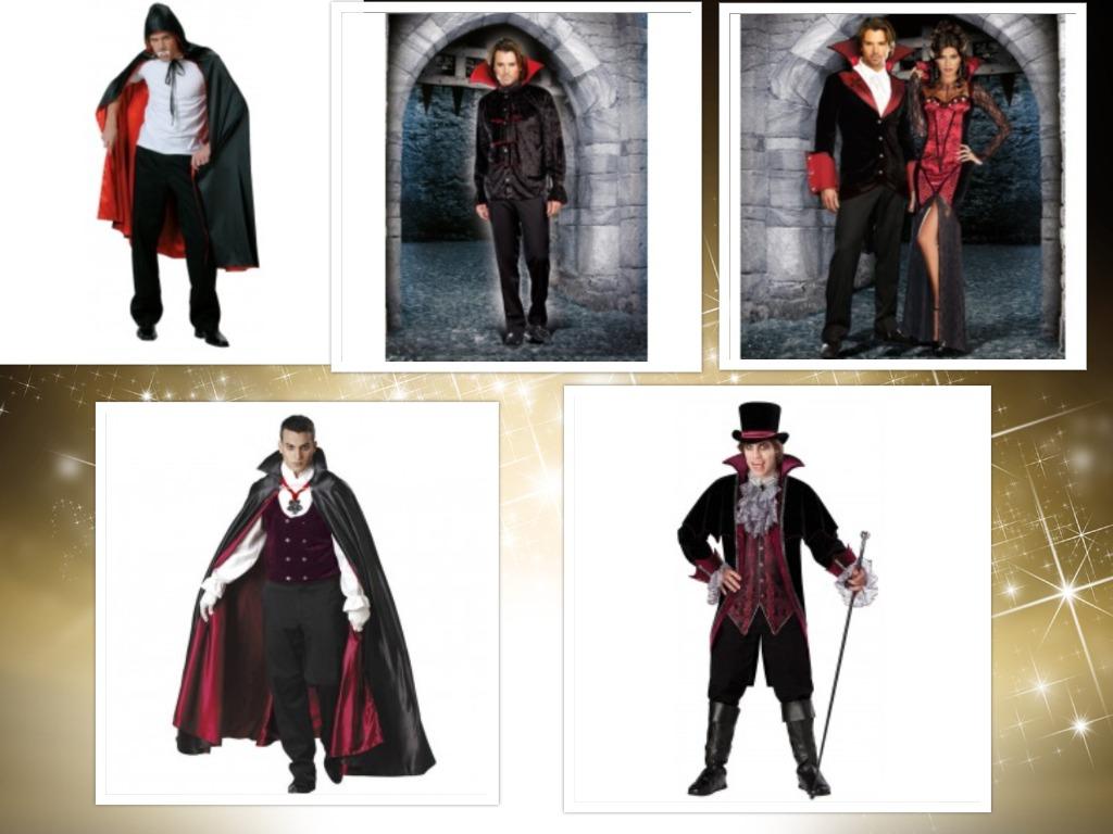 costume halloween pentru barbati vampiri