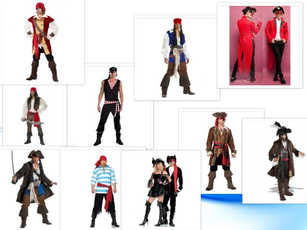 costume halloween pirati