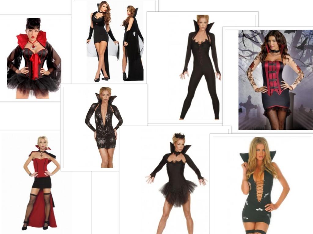 costume vampirita sexy