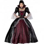 Costum Halloween vampirita regina rea