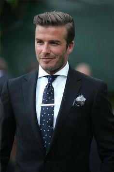 cămașă wide spread / wide collar la sacou Beckham