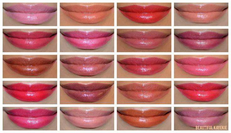 nuanțe culori ruj hidratant Avon Ultra Colour