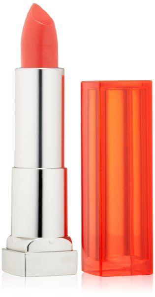Ruj Maybelline NY Color Sensational Vivids nuanta 910 Shocking Coral