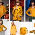 haine si accesorii galben mustar