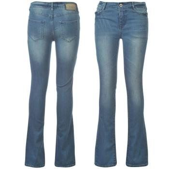 Jeansi moderni blugi evazati  bleu firma Firetrap