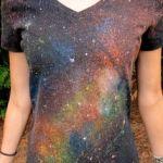 tutorial cum sa pictezi o galaxie big bang pe un tricou