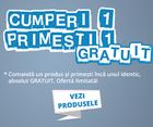 promotie oferta 1+1 gratis la produse de ingrijire personala