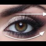 linii directoare in machiajul ochilor