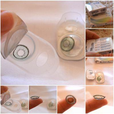lentile de contact colorate cu dioptrii TopVue Color