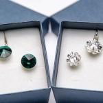 set de bijuterii argint si swarovski cadou la orice rochie cumparata