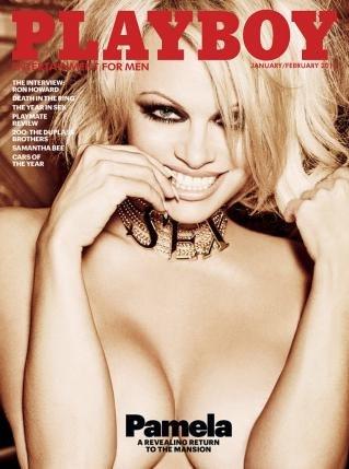 revista Playboy numarul ianuarie-februarie 2016, cu Pamela Anderson pe coperta