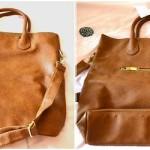 geanta de mana simpla maro H&M