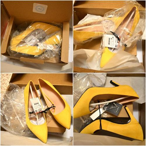 comanda de pantofi Zara online