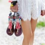 sandale Boho Chic stil Gypsy