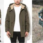geci si jachete verde militar kaki pentru femei si barbati