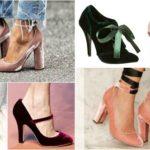 pantofi-cu-toc-din-catifea