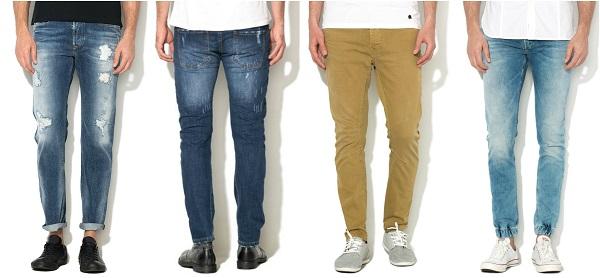 jeansi conici pentru barbati