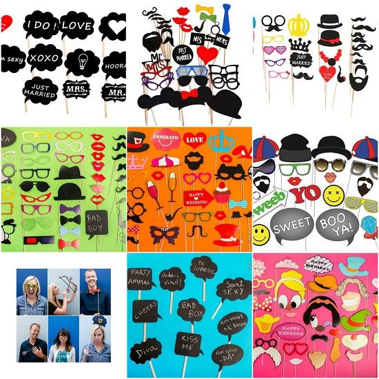 propsuri si accesorii de petrecere pentru fotografii amuzante