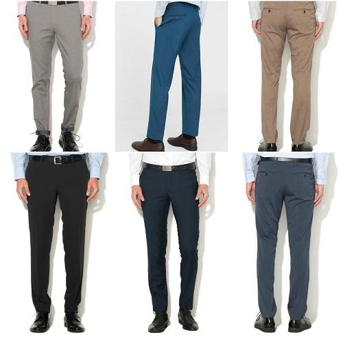 pantaloni barbatesti de costum