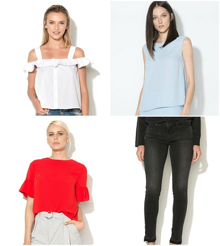 bluze basic pentru un stil propriu bine definit
