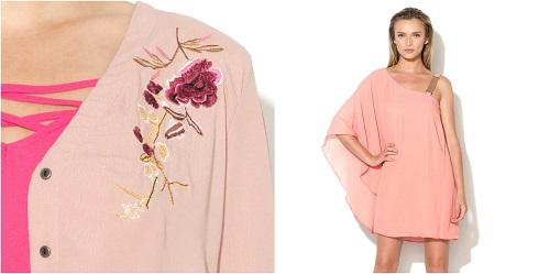 haine roz de firma