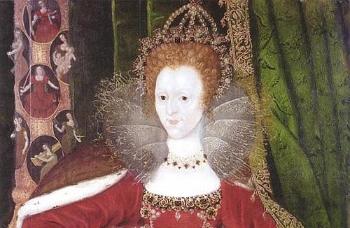 regina elizabeta I a angliei cu ten alb imaculat