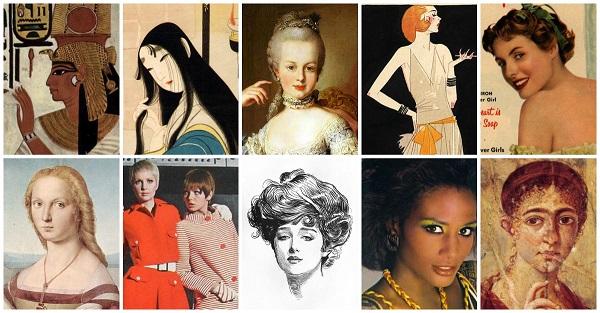 tipare de frumusețe în istorie