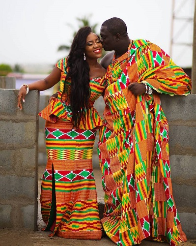 costume de nunta in Ghana