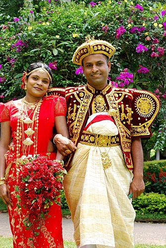 costume de nunta traditionale in sri lanka