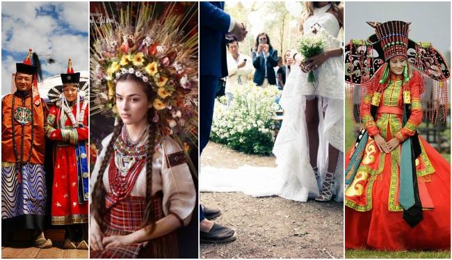 costume traditionale de nunta in lume ce imbraca mirele si mireasa in diverse tari ale lumii