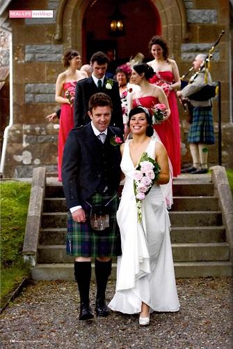 nunta traditionala in scotia