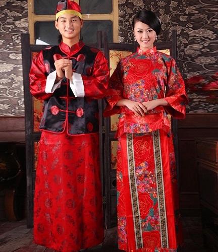 tinutele traditionale de nunta in China