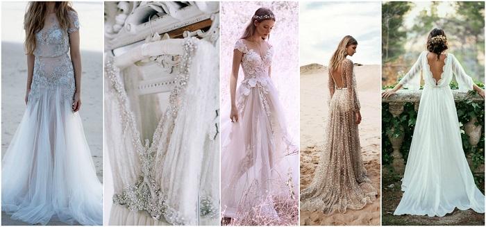 rochie de mireasa pentru sagetator