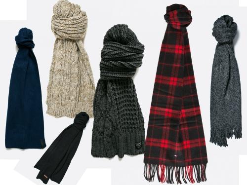 fulare tricotate pentru barbati