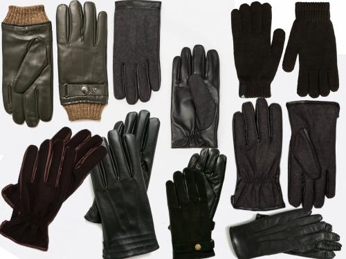 mănuși simple pentru bărbați