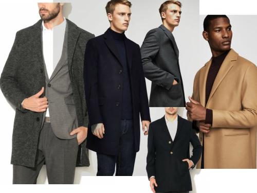 palton din stofa gros pentru barbati