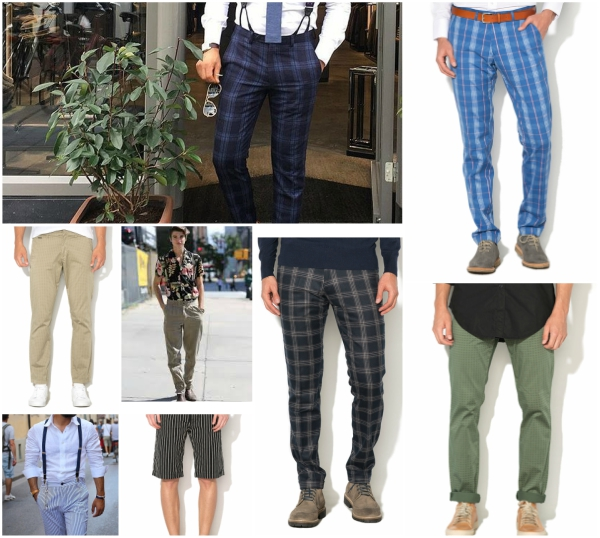 pantaloni de barbati originali pentru un stil nonconformist