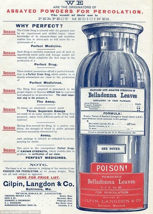 beladonna sau matraguna utilizata in machiaj si cosmetica in trecut
