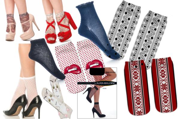 șosete modele de purtat cu sandale și pantofi