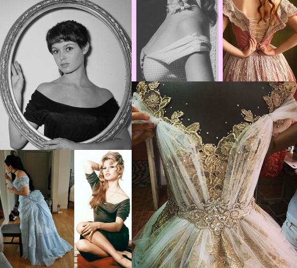 rochii cu umerii goi in stil victorian care a inspirat decolteu stil Bardot