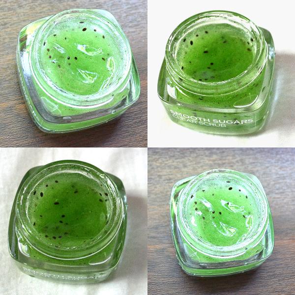 masca exfolianta LOreal Paris Smooth Sugars cu kiwi si 3 tipuri de zahar
