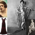 moda anii 20 ce se purta in anii 20 in stilul flapper si epoca jazz